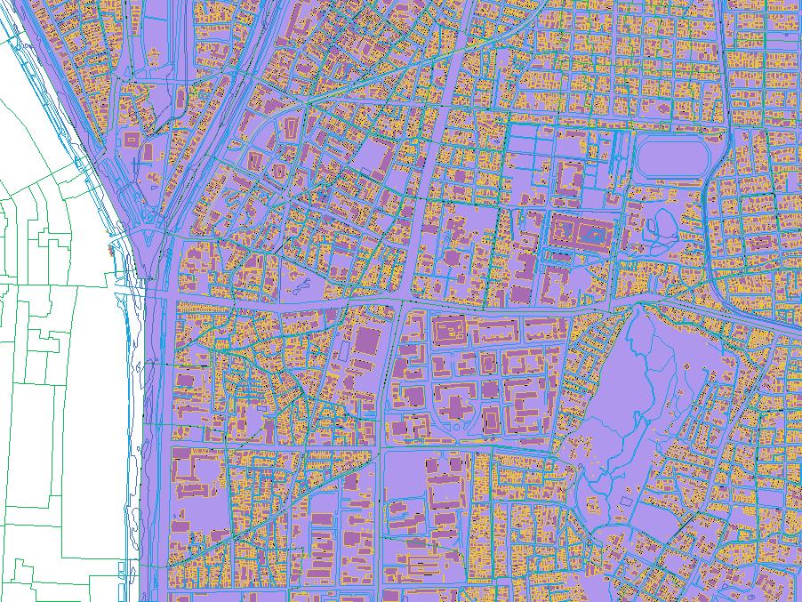 QGISで国土地理院基盤地図情報を...